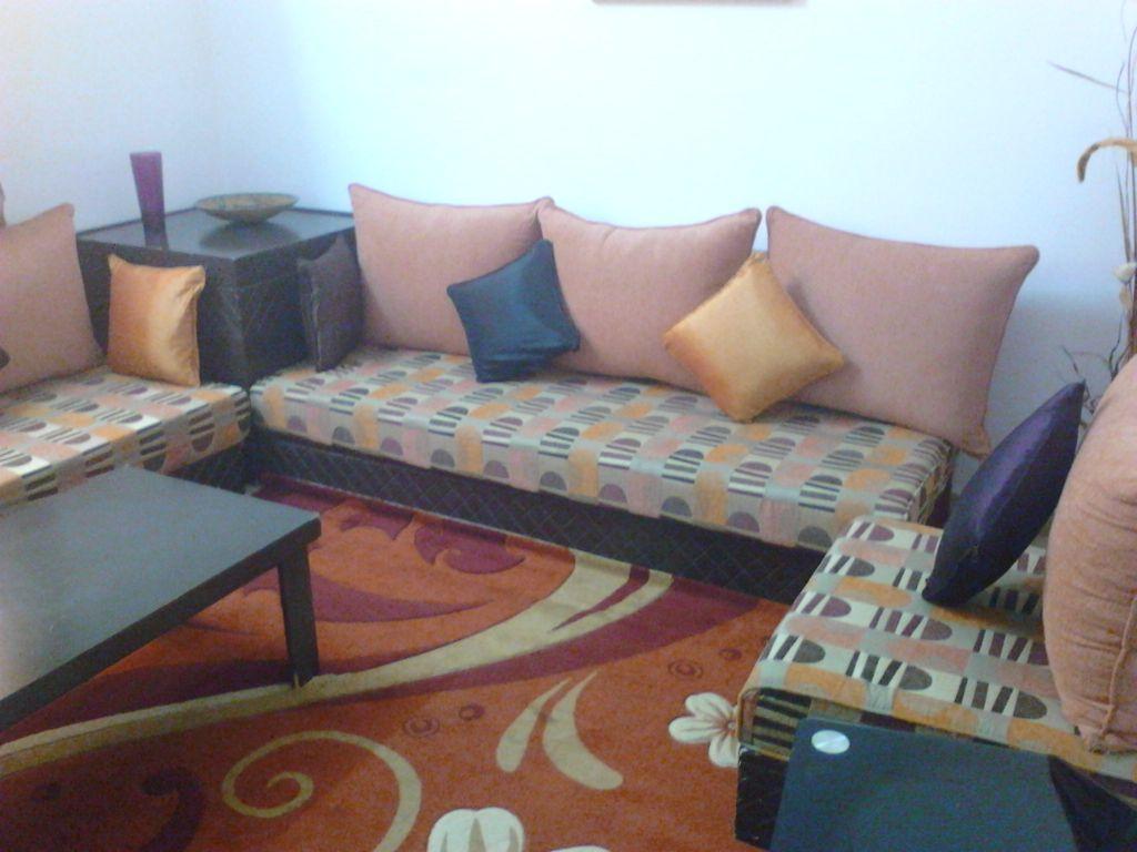 Salon Qaci Type Marocain Djiboutien