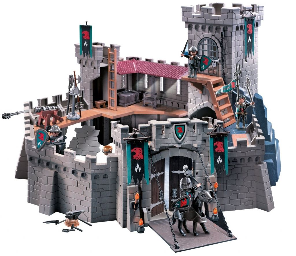 playmobil chateau fort. Black Bedroom Furniture Sets. Home Design Ideas